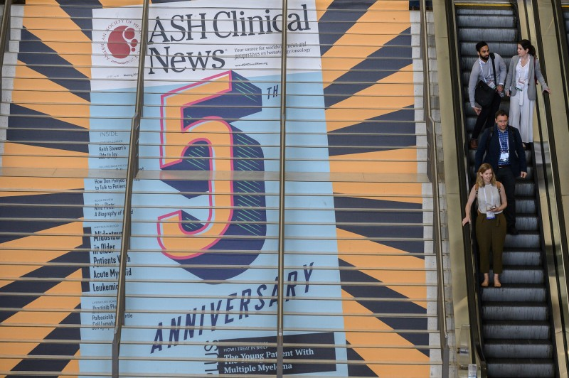 ASH Clinical News Stairway